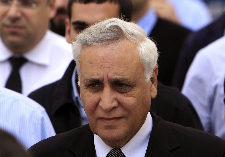 Former president of Israel Moshe Katsav