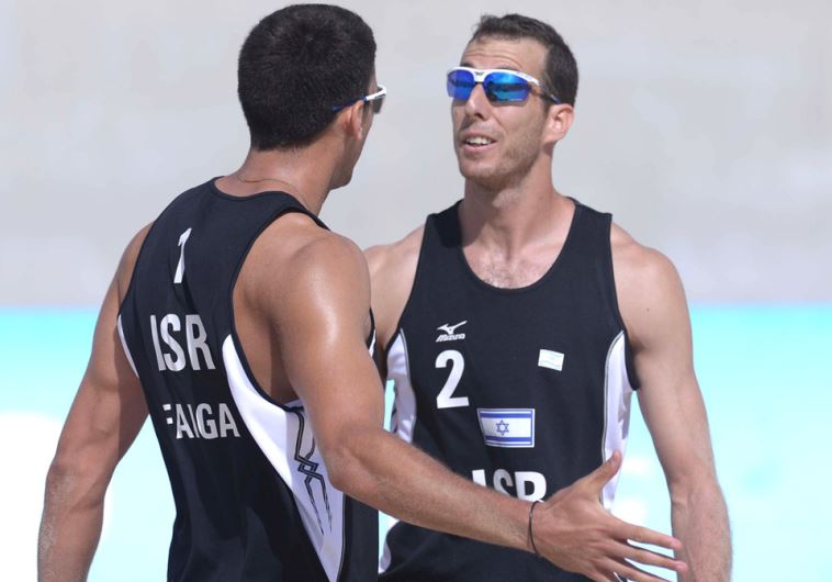 Israeli beach volleyballers to compete in Qatar