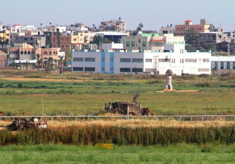 The Gaza border