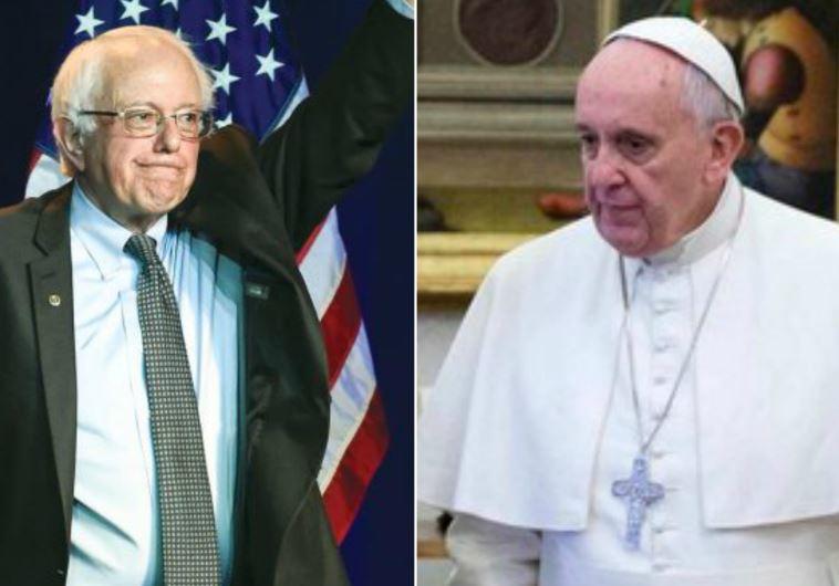 Vermont Senator Bernie Sanders and Pope Francis