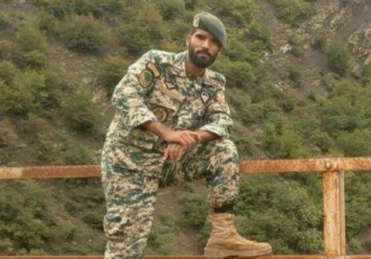 The Iranian army soldier killed, Mohsen Qitaslo