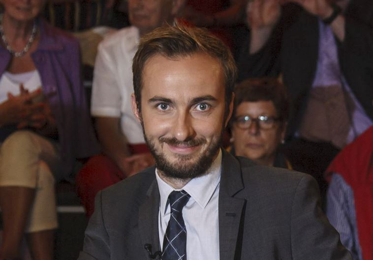 """Jan Boehmermann, host of the late-night """"Neo Magazin Royale"""" on the public ZDF channel is pictured d"""