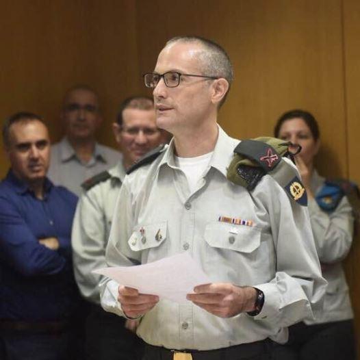 IDF Brig.-Gen. Sharon Afek (credit: IDF SPOKESPERSON'S UNIT)