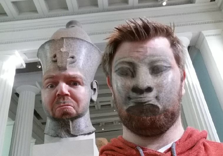 Faceswap Egyptian museum