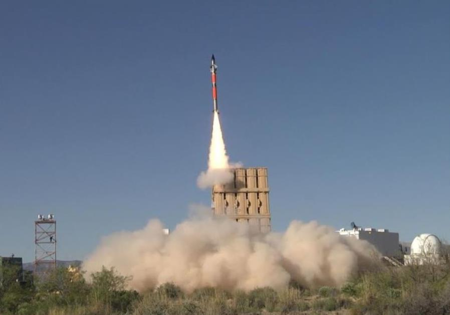 Trial of the Iron Dome system in the US.