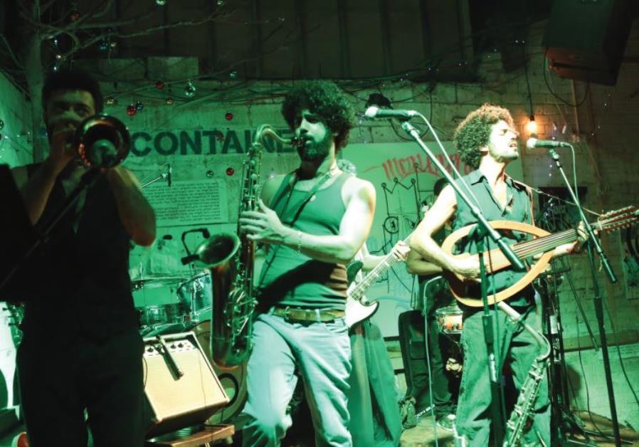 Israeli band Quarter to Africa.