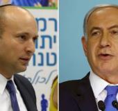 PM Benjamin Netanyahu and Education Minister Naftali Bennet