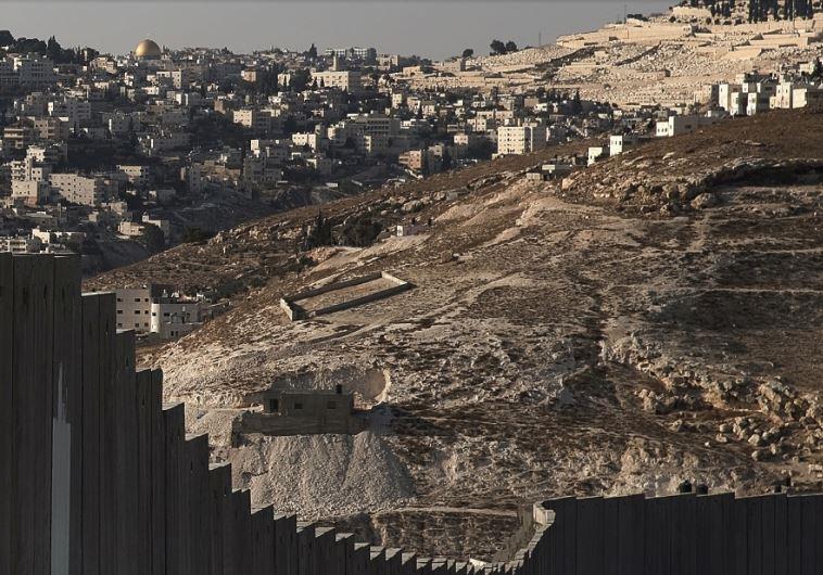 The Israeli security barrier
