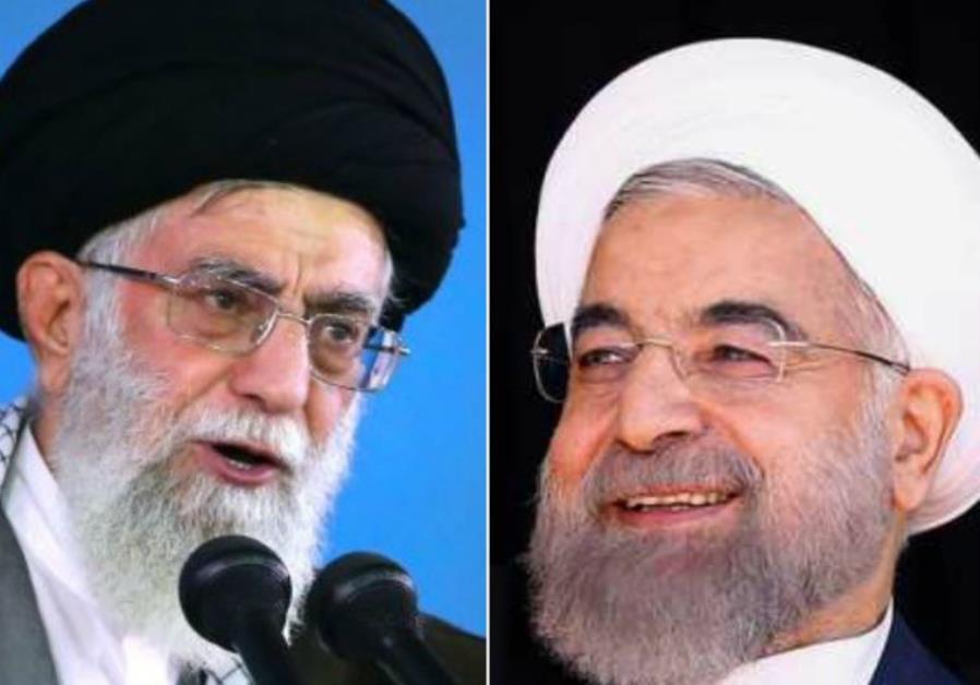 Supreme Leader Ayatollah Ali Khamenei and President Hassan Rouhani