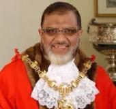 Former Blackburn mayor Salim Mulla