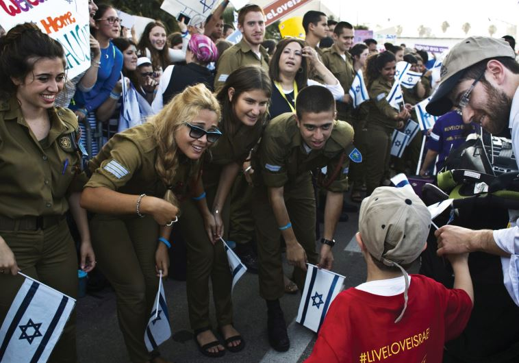 NEW OLIM arriving at Ben-Gurion Airport