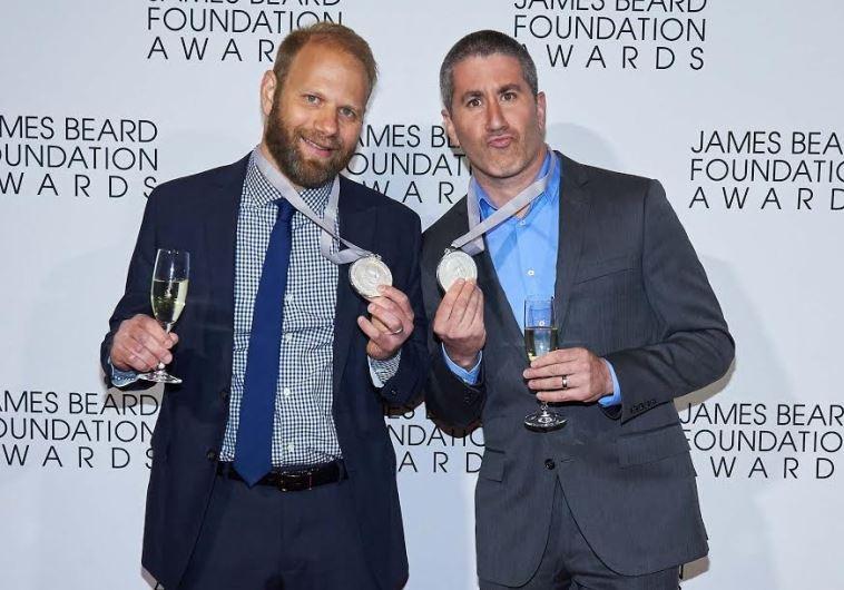 Michael Solomonov (right) and Steven Cook