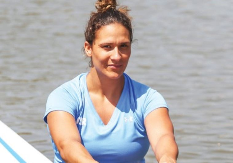 LUCIE LYAT has taken up rowing once again after making aliya