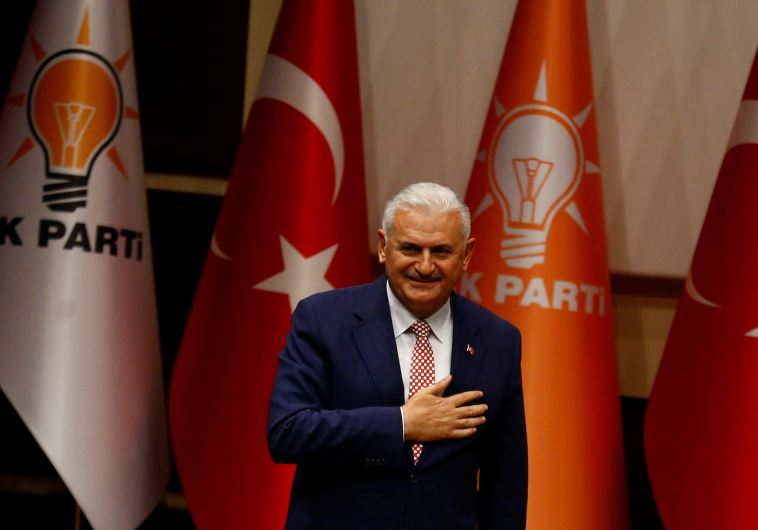 Binali Yildirim Turkey PM