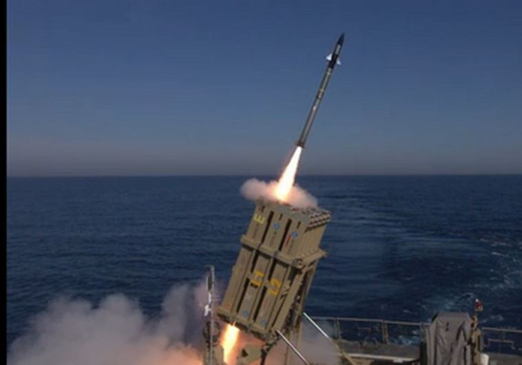 Iron Dome Intercepts Multiple Rockets Fired From Sinai