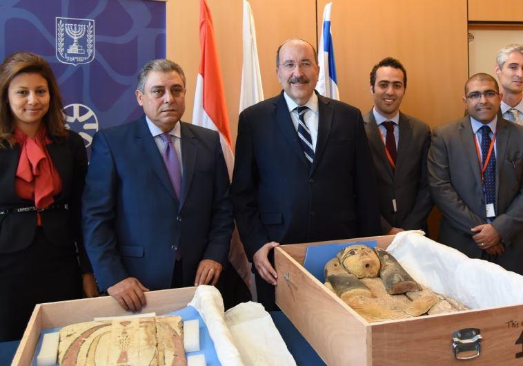 Foreign Ministry ambassador of Egypt