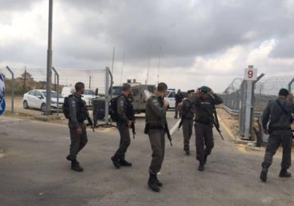 Palestinians arrested for