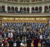 Swiss parliament in Bern