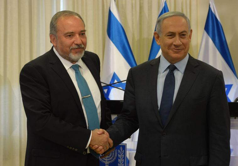 Netanyahu Liberman