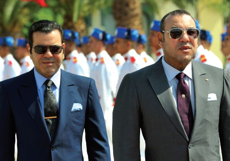 Moroccan king Mohammed VI