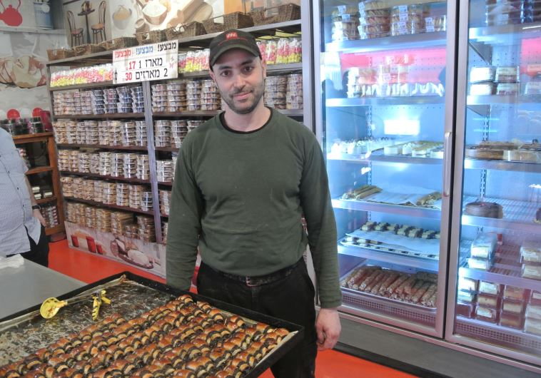 Itzik Ozarko, the owner of Marzipan bake shop in Machane Yehuda market, Jerusalem. Known for chocola