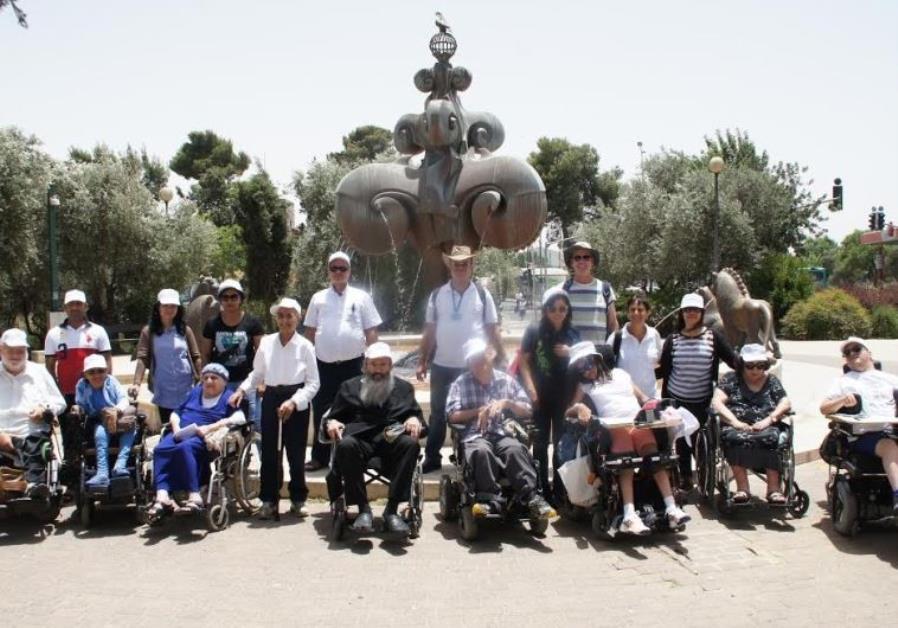Yad Sarah lends a hand on Jerusalem Day