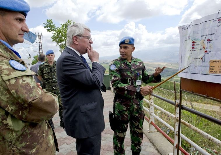 UN under sec.-gen. tells 'Post' Hezbollah busy fighting in Syria, war in Lebanon unlikely