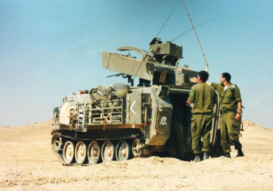 Hafiz missile launcher, used to fire the Tamuz
