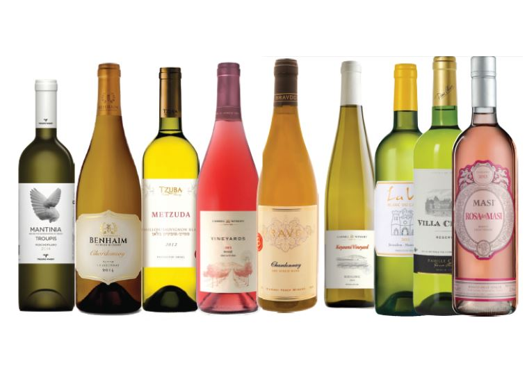 White and rosé wines Israel