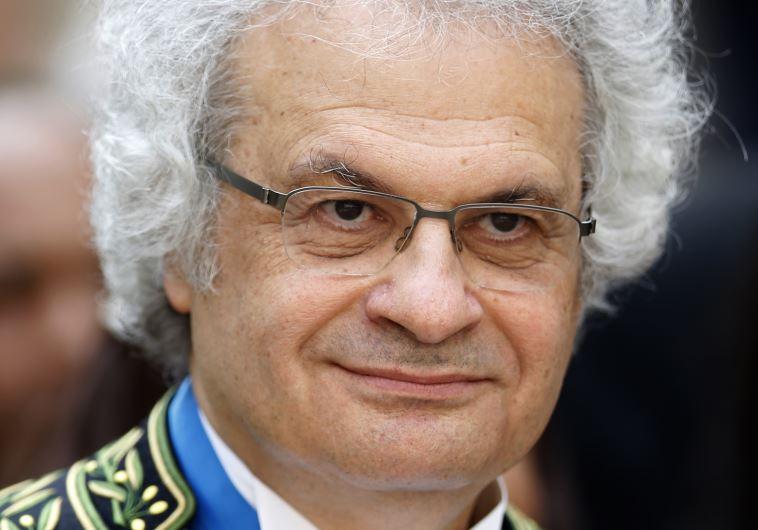 The Lebanese writer Amin Maalouf