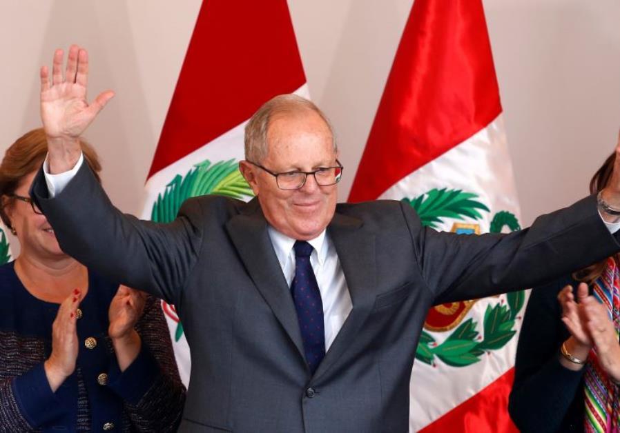 Peruvian President Pedro Pablo Kuczynski
