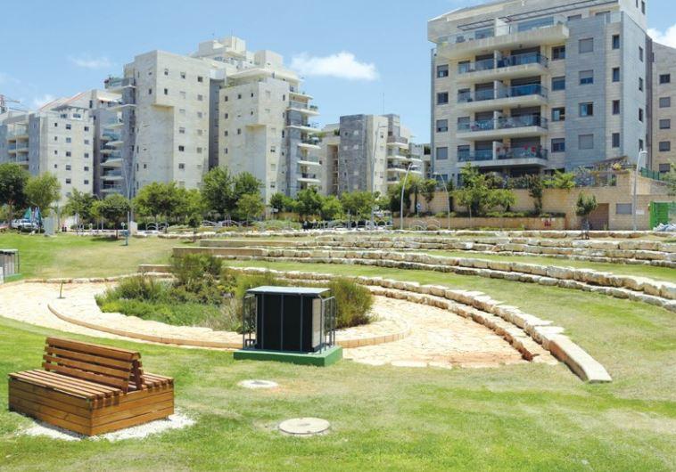 BENEATH KFAR SABA'S Yarok neighborhood the local hybrid biofilter quietly purifies the town's ground