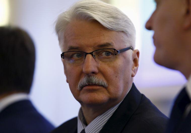 Poland's Minister of Foreign Affairs Witold Waszczykowski