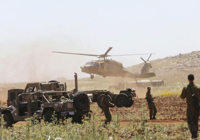 IDF gaza exercise hamas