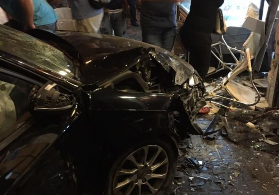 Tel Aviv car crash that killed Alan Weinkrantz and two others