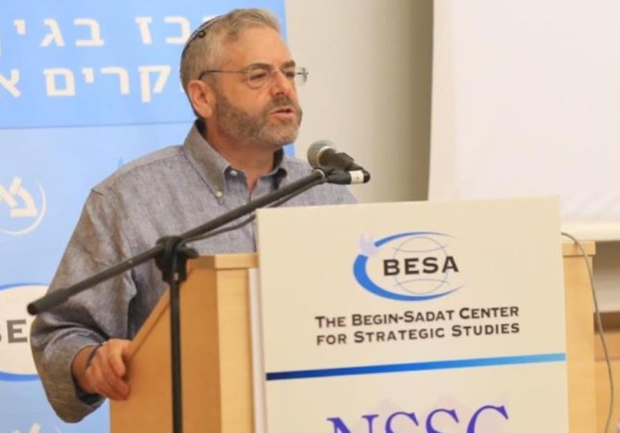 The BESA Center Prof. Joshua Teitelbaum speaking at international conference at Bar-Ilan University