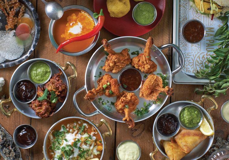 Indian restaurant in Tel Aviv