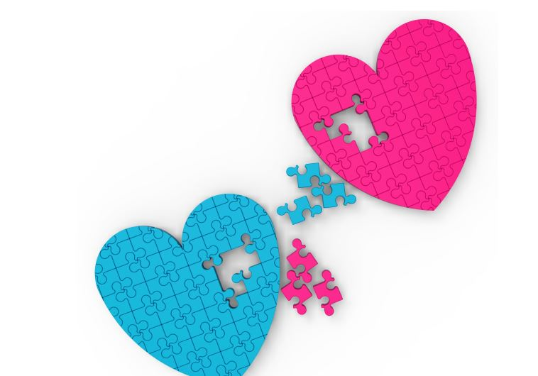 Two Hearts Puzzle