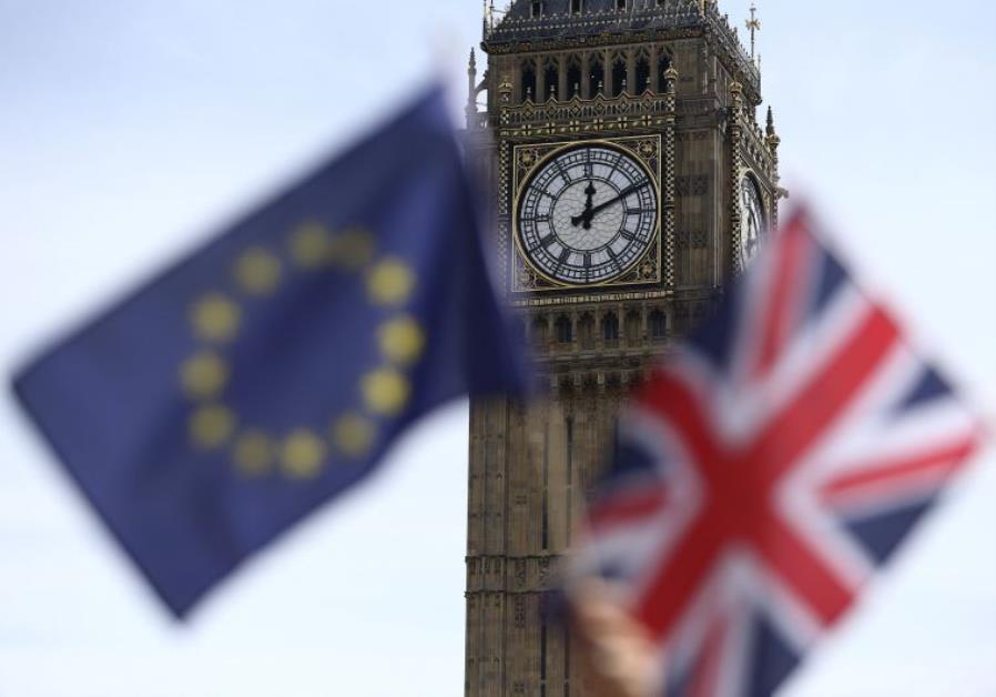 Brexit EU UK Flags