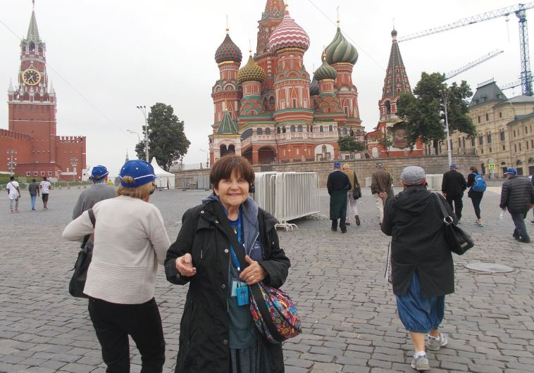 THE AUTHOR stands in Moscow's Red Square