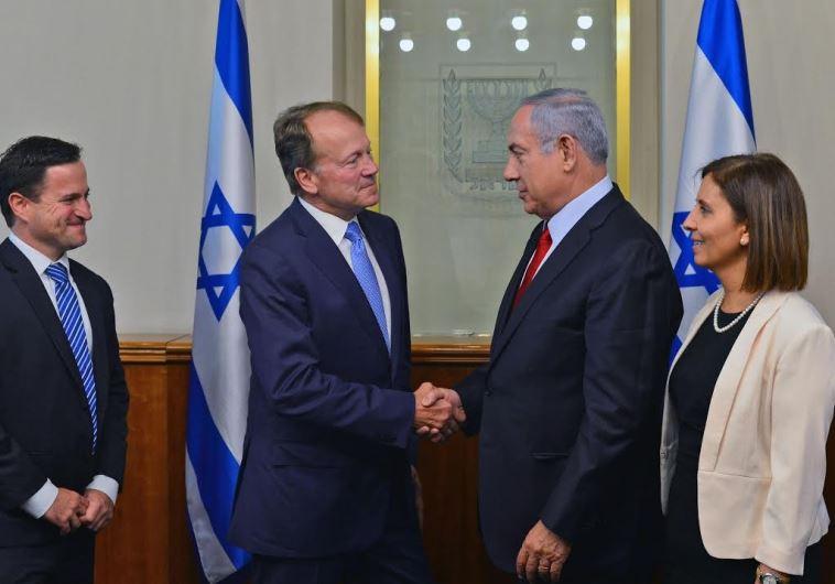 PM Netanyahu Meets with Cisco Executive Chairman John T. Chambers