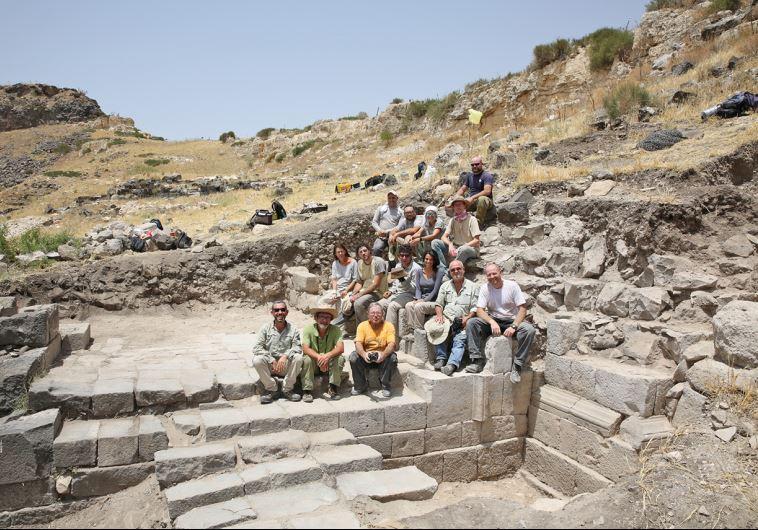 Roman gate Israel
