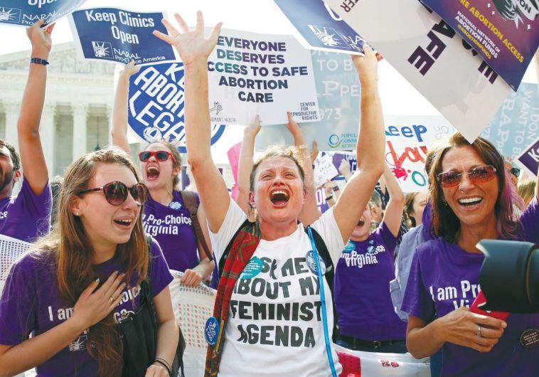 DEMONSTRATORS Abortion