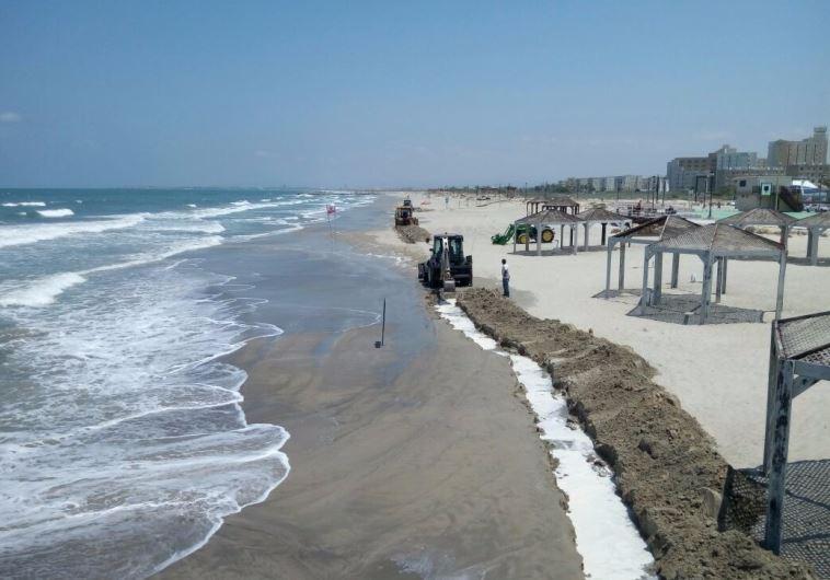 oil spill israel