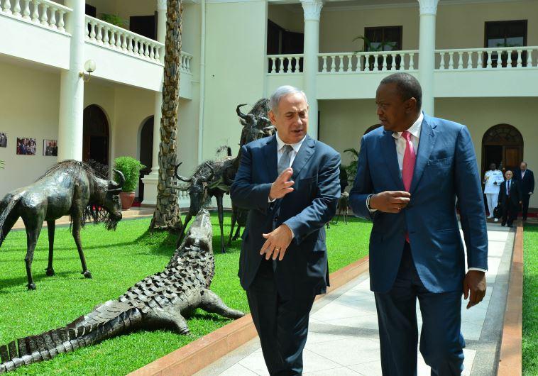 Netanyahu Kenyatta