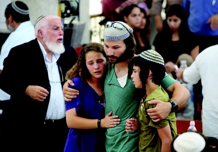 Les enfants endeuillés du rabbin Mickael Mark