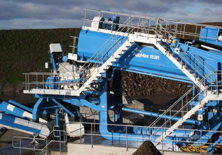 A CDE Global deomlition recycling facility that could be built in Israel