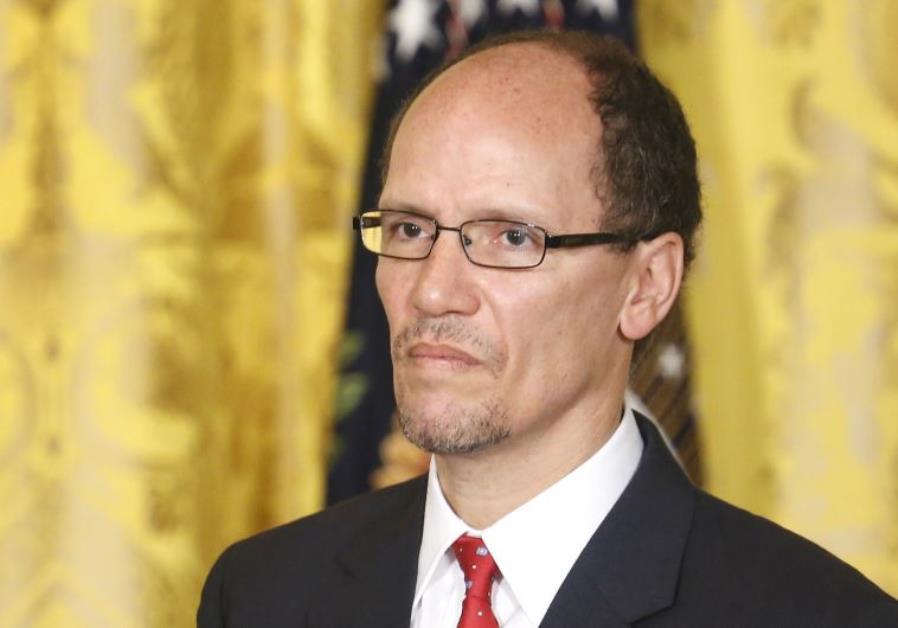 US labor secretary Tom Perez