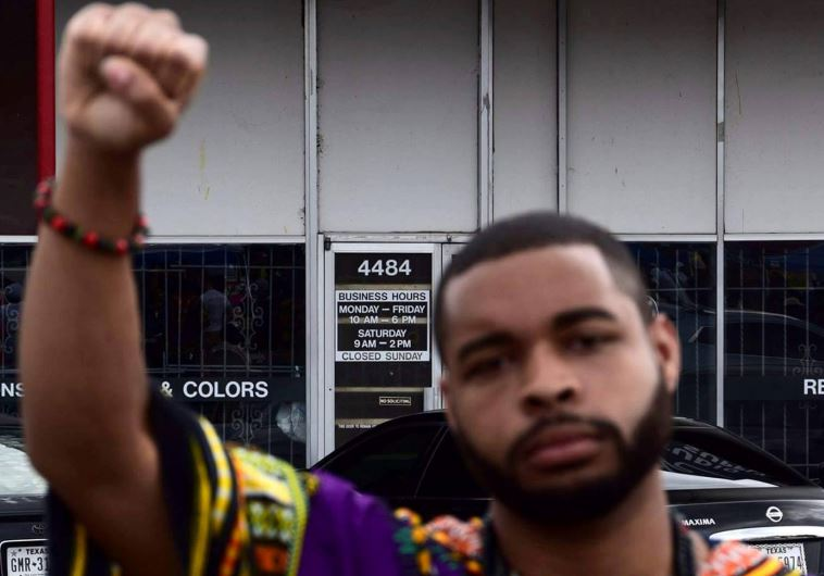 Micah Xavier Johnson, a man suspected by Dallas Police in a shooting attack and who was killed durin