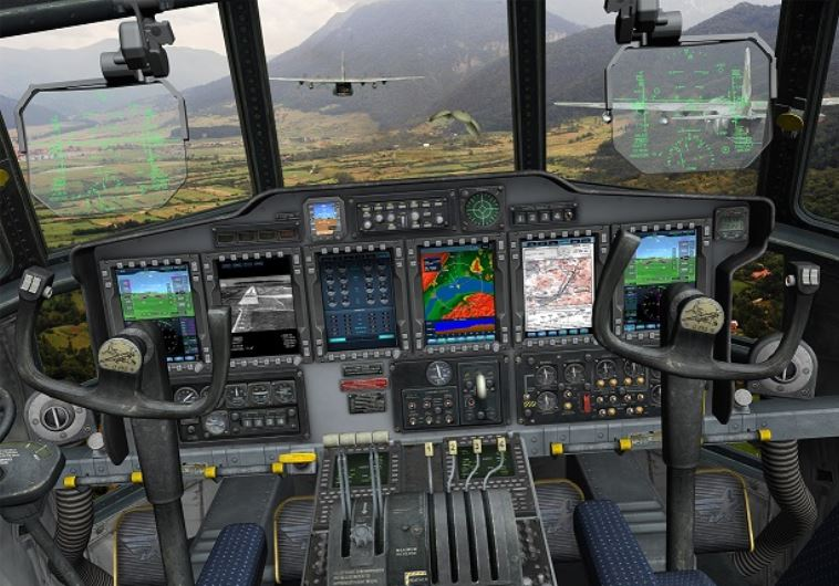 IAF Hercules pilots see augmented reality on first test flights